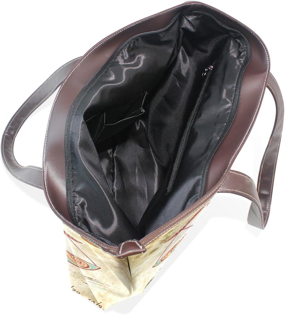 Constellation Zodiac Sign Libra Womens Fashion Large Tote Ladies Handbag Shoulder Bag