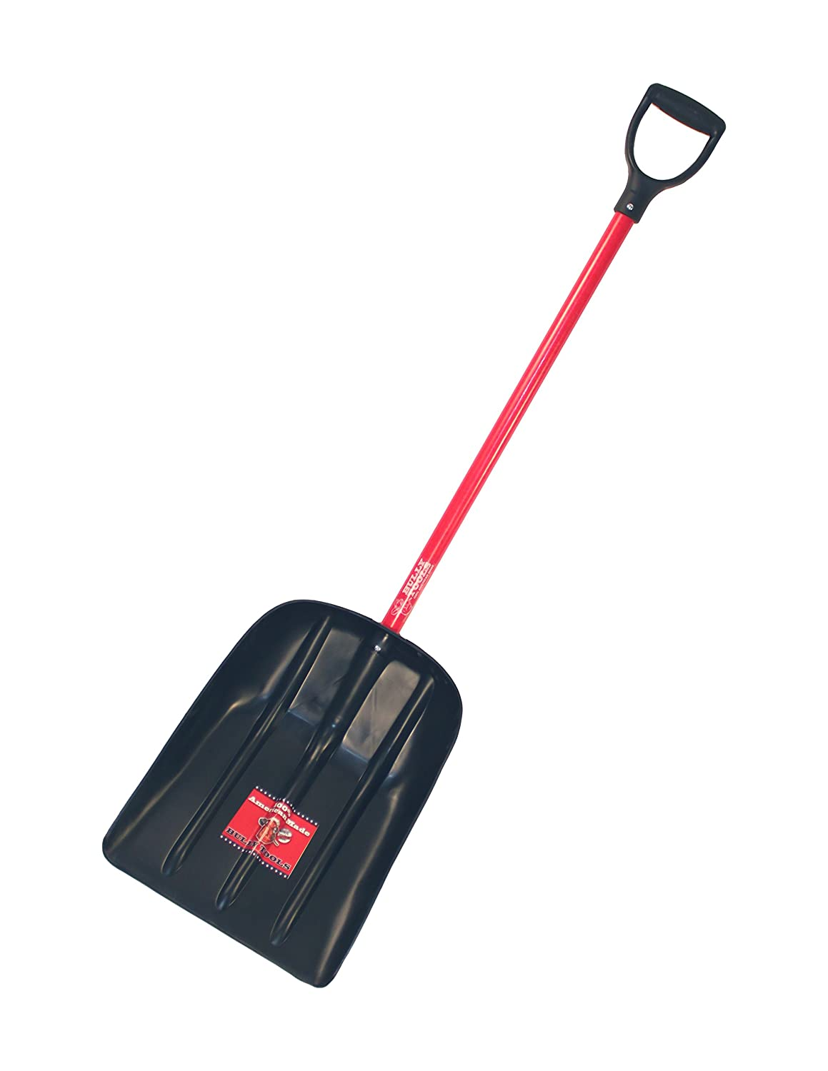Bully Tools 92400 Mulch/Snow Scoop with Fiberglass D-grip Handle forest hill shovel