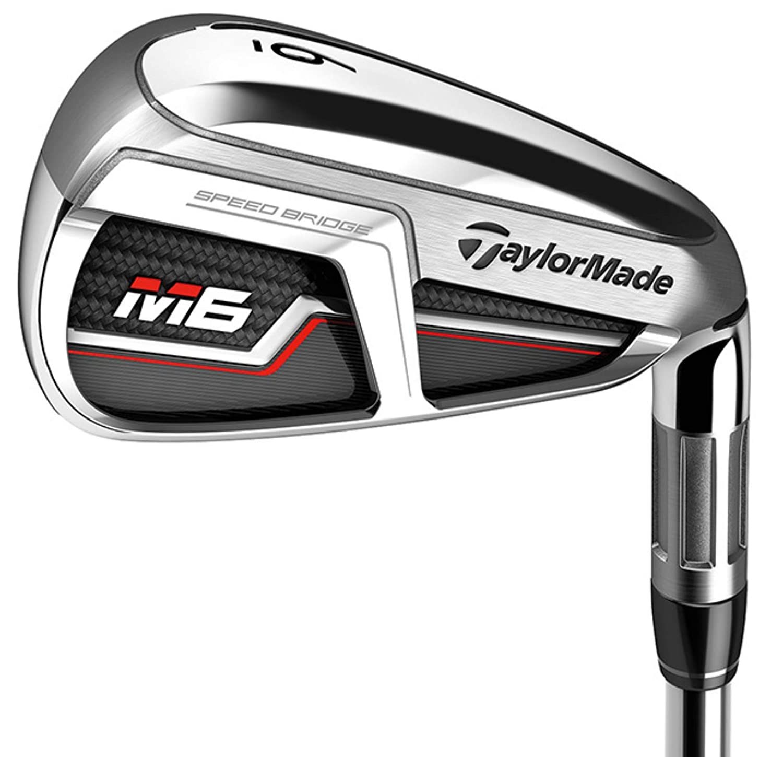 TaylorMade Golf M6 アイアン AEROTECH スチールファイバー グラファイト カスタム仕様 B07P9ZPQK2 スティッフ RH / 6,8,PW & SW