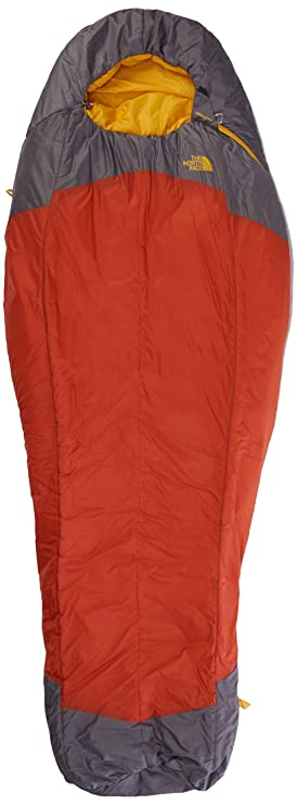 The North Face Lynx Regular Left Hand Saco de Dormir, Unisex, Naranja/Gris: Amazon.es: Deportes y aire libre