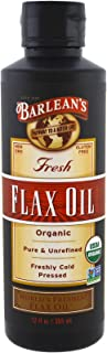 product image for BARLEANS Organic Flax Oil, 12 FZ