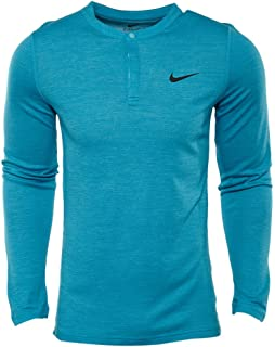 99dbd4d3 Nike Men's Sportswear Legacy Long Sleeve Henley Soft Cotton Shirt ...