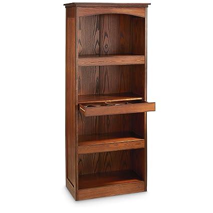 Attirant CASTLECREEK Gun Concealment Bookcase