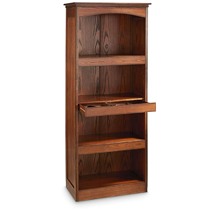 10. CASTLECREEK Gun Concealment Bookcase