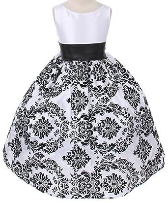Amazon.com: Kids Dream Girls Velvet Special Occasion Dress with ...