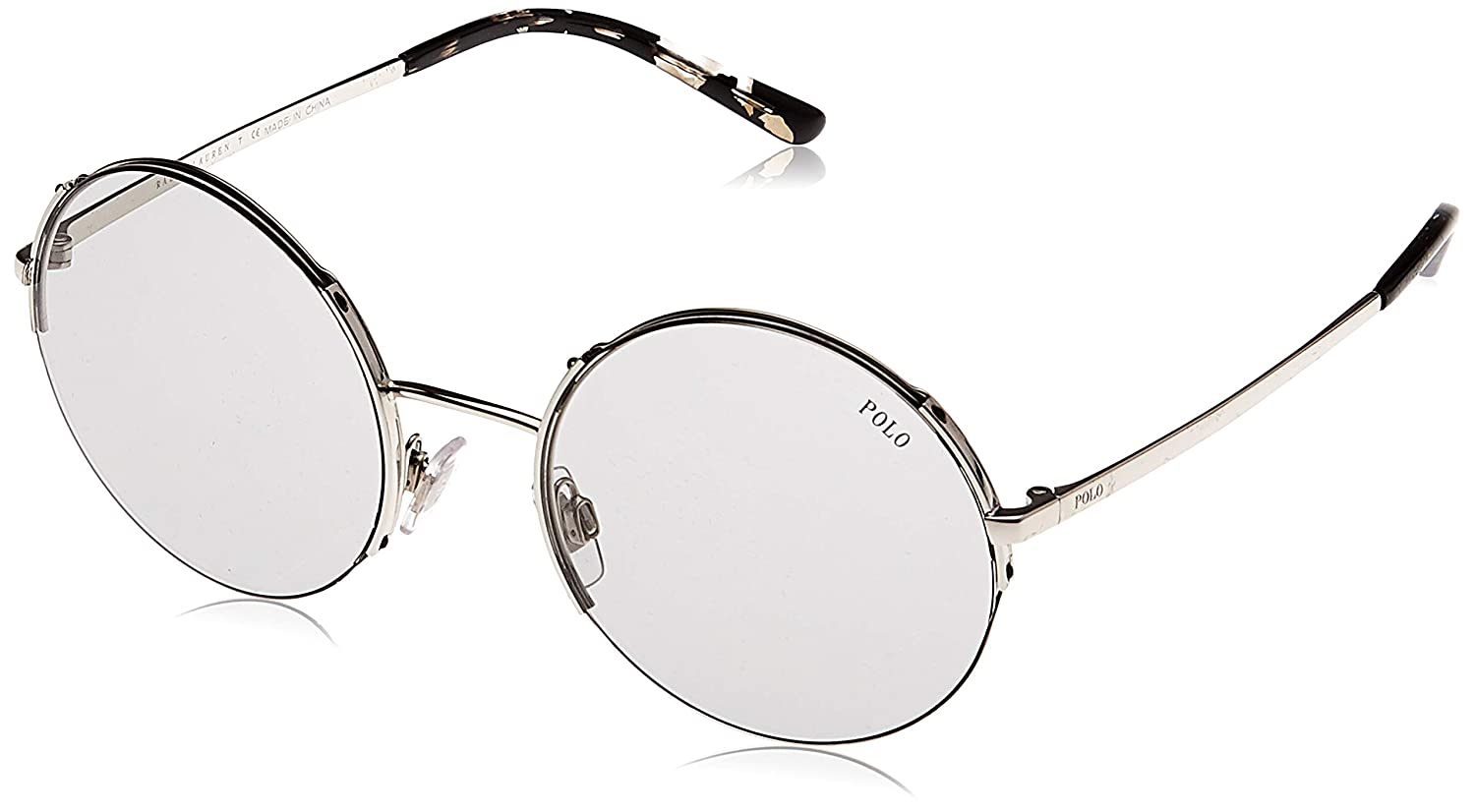 Polo 0PH3120 Gafas de sol, Redondas, 45, Silver: Amazon.es: Ropa y ...