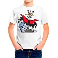 Camiseta Serie Manga y Anime Niño - Unisex Mazinger Z