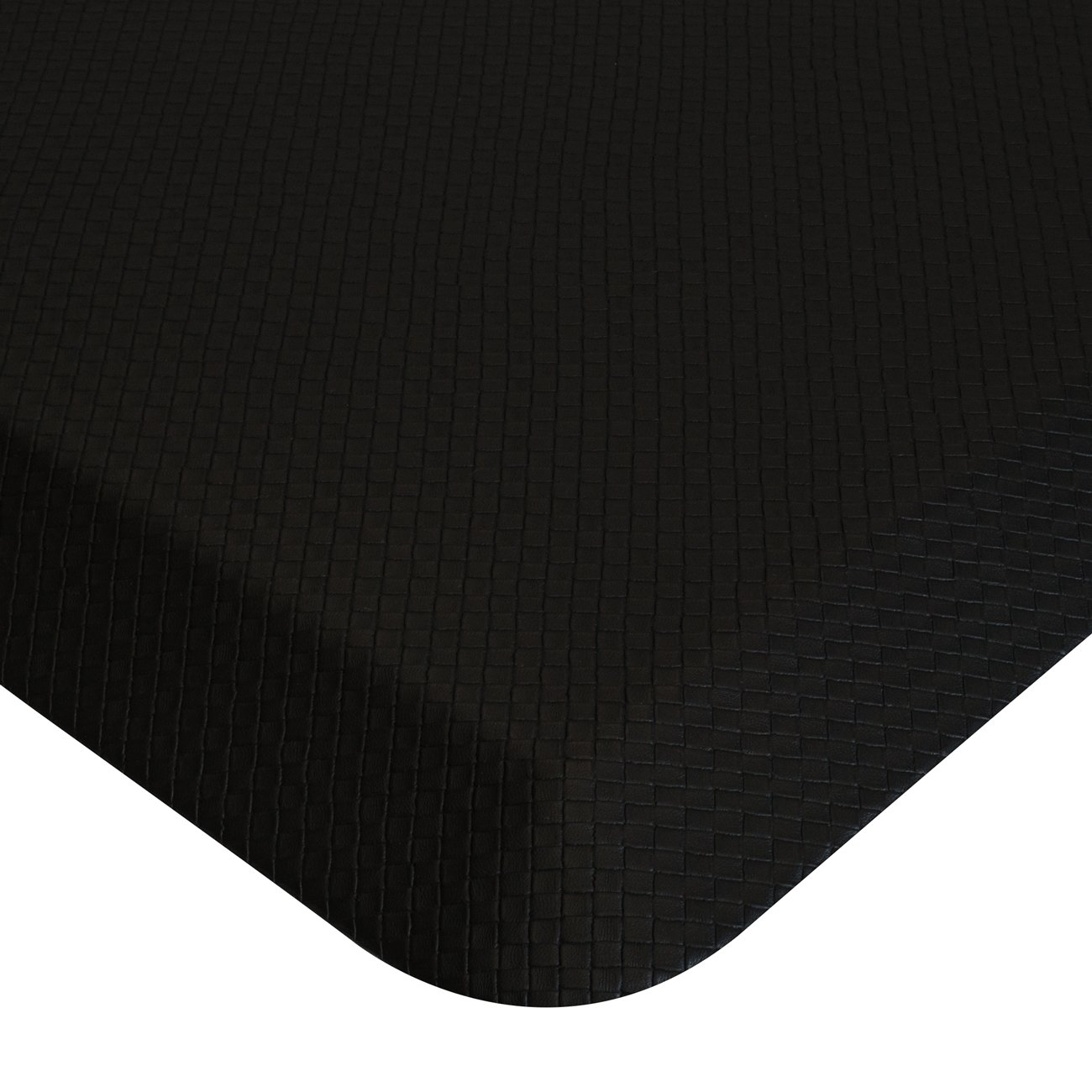 Sorbus Anti Fatigue Mat - Comfort Standing Mat Kitchen Rug - Perfect for Kitchen and Standing Office Desk (24 in x 18 in, Black) by Sorbus (Image #6)