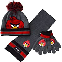 Boys - Angry Birds HSG Hat Scarf Glove Set