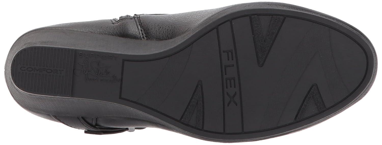 LifeStride Women's Neeva Ankle Bootie B07324M813 11 W US|Black