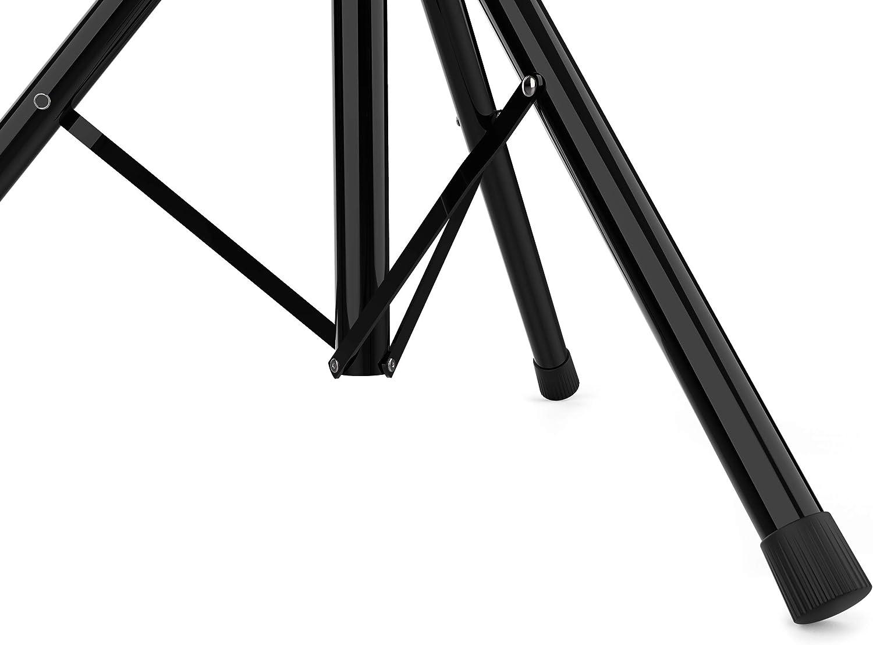 Soporte para Port/átil Altura ajustable: 92cm a 130cm Controlador Midi o Controladora DJ Top-40 Soporte De Mesa Tama/ño bandeja: 47,5 x 25,5 cm Fabricado en Acero Color Negro Audibax