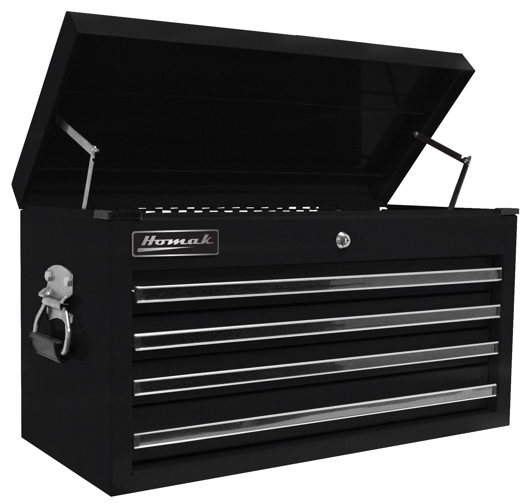 Homak   BK02042601 27-Inch Professional 4 Drawer Top Chest, Black by Homak Mfg. Co., Inc. (Image #1)