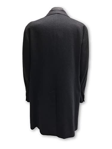 Pal Zileri Concept Pure Cashmere Coat in Charcoal Size 46R Cashmere: Amazon.es: Ropa y accesorios