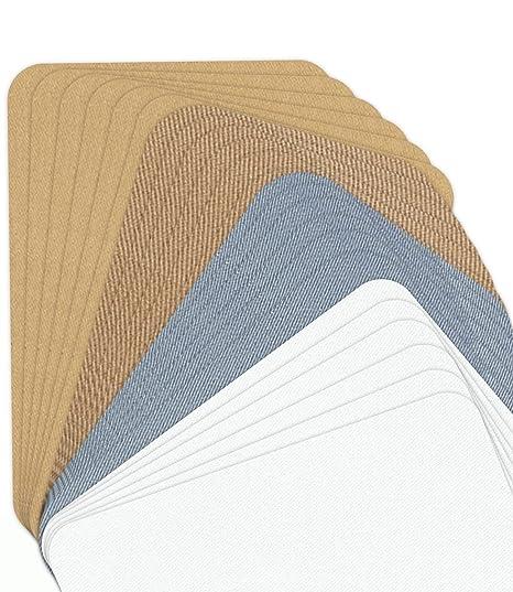 Ebateck 24 parches de tela para planchar sobre ropa, parches ...