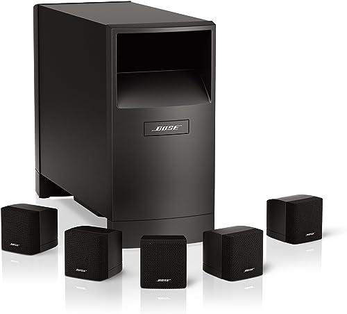Bose Acoustimass 6 Home Entertainment Speaker System Black