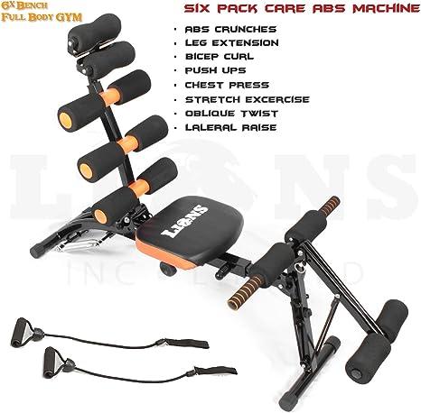 Leones® Ultimate total Core Tonificador Inteligente cuerpo 6 paquetes gimnasio en casa Fitness entrenamiento Ab máquina: Amazon.es: Deportes y aire libre