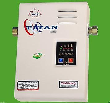 gracelove eléctrico SCR2 Titan N-120 calentador calentador de agua, nuevo