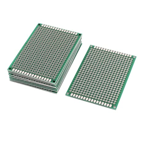 Buy Sellify 10 PCS 7 x 5cm Double-Side Prototype Stripboard