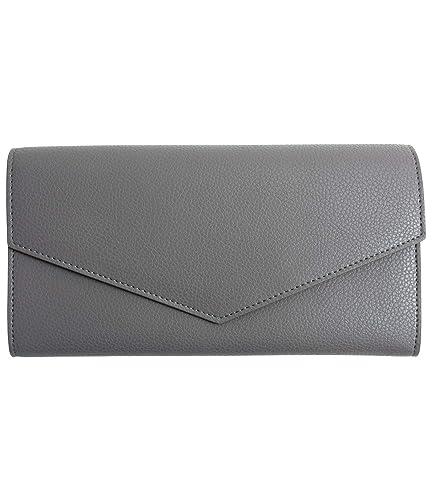 34d82e249786 MALTA 長財布 レディース レザー 財布 牛革 ボタン留め ファスナー 小銭入れ カード入れ 薄型 二