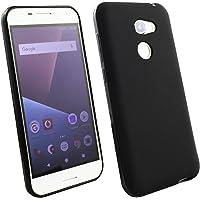 Emartbuy Vodafone Smart N8 Matt Case Cover Custodia in Gel Nero