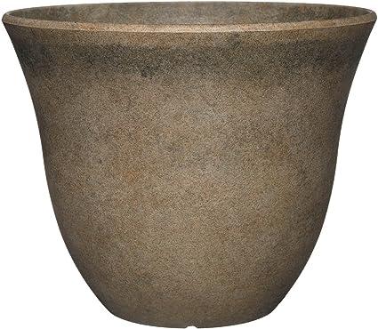 Stone Look Oval Planter 12 x 6 x 4.5 tall
