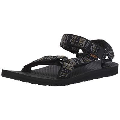 Teva Men's M Original Universal Sandal, Pottery Black/Multi, 12 Medium US | Sport Sandals & Slides