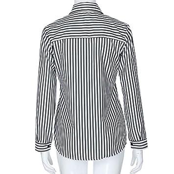 Clearance Women Tops LuluZanm Loose Blouse Casual T Shirt Fashon Striped Long Sleeve Tops: Amazon.com: Grocery & Gourmet Food