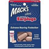 MACKs Ultra Haute performance des bouchons d'oreille en mousse souple SNR32dB 10 Paires Case Voyage Gratuit Inclus