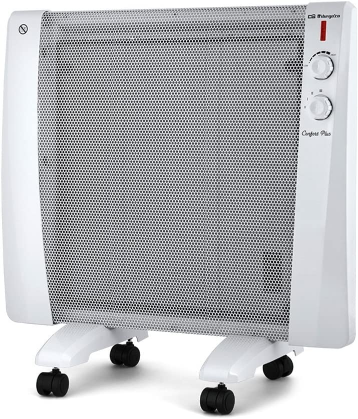 Orbegozo RM 1000 Radiador de Mica, W, Color blanco
