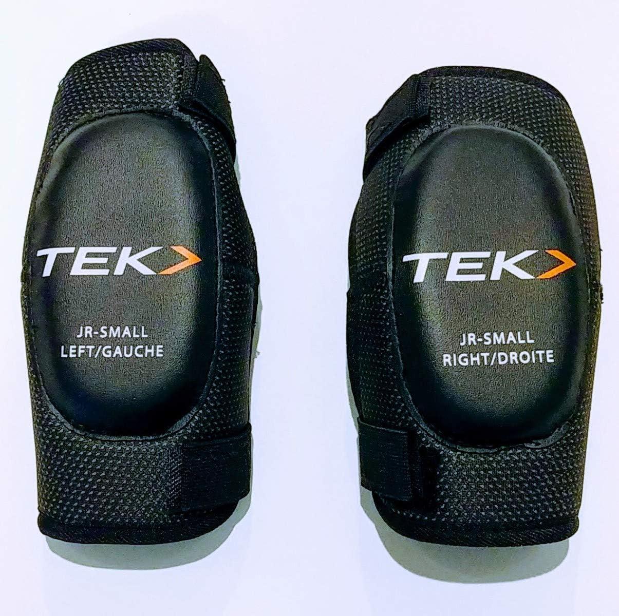 PowerTek V3.0 Tek Junior Ice Hockey Soft Elbow Pads Junior Small