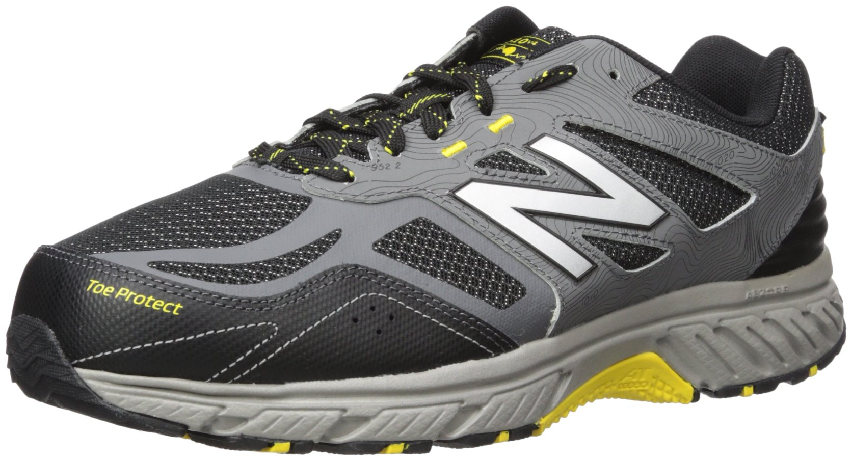 New Balance Men's 510v4 Cushioning Trail Running Shoe, Castlerock, 11.5 D US