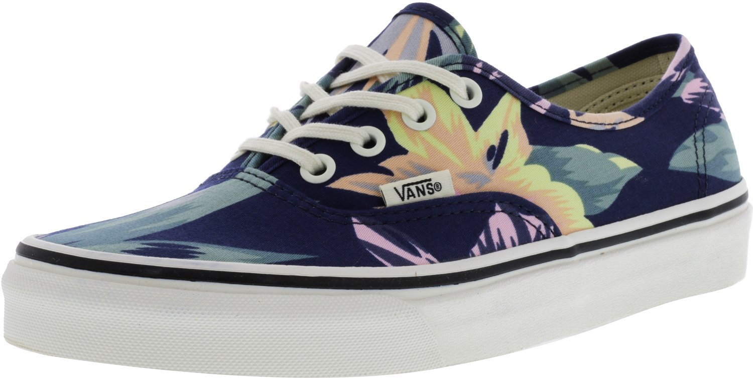 d4870be41e0a self-tie Closure Vans Unisex Authentic Vintage Floral Skate Shoes  B073WVLRHN 9.5 8 M US Women   8 9.5