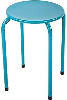 Sgabelli Impilabili Ikea.Ikea Marius Sgabello Nero O Bianco Amazon It Casa E Cucina
