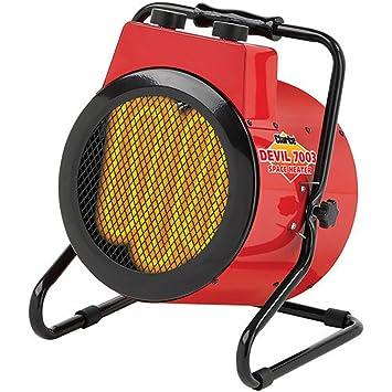 fresh styles quite nice good looking Clarke Devil 7003 3kW Industrial Electric Fan Heater