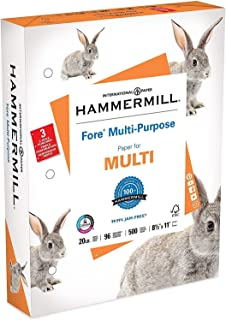 product image for Hammermill 103275RM MP Paper,20Lb,3-Hole,8-1/2-Inch x11-Inch,96 GE/112 ISO,WE
