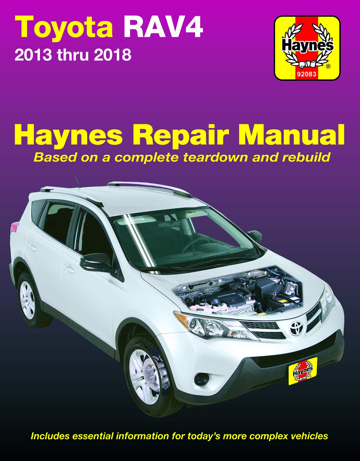 [DIAGRAM_1CA]  Toyota RAV4 (13-18) Haynes Repair Manual (Does not cover information  specific to RAV4 EV (Electric Vehicle) models. Includes thorough vehicle  coverage ... exclusion noted.) (Haynes Automotive): Haynes Manuals:  9781620923252: Amazon.com: Books | 2016 Toyota Rav4 Engine Diagram |  | Amazon.com