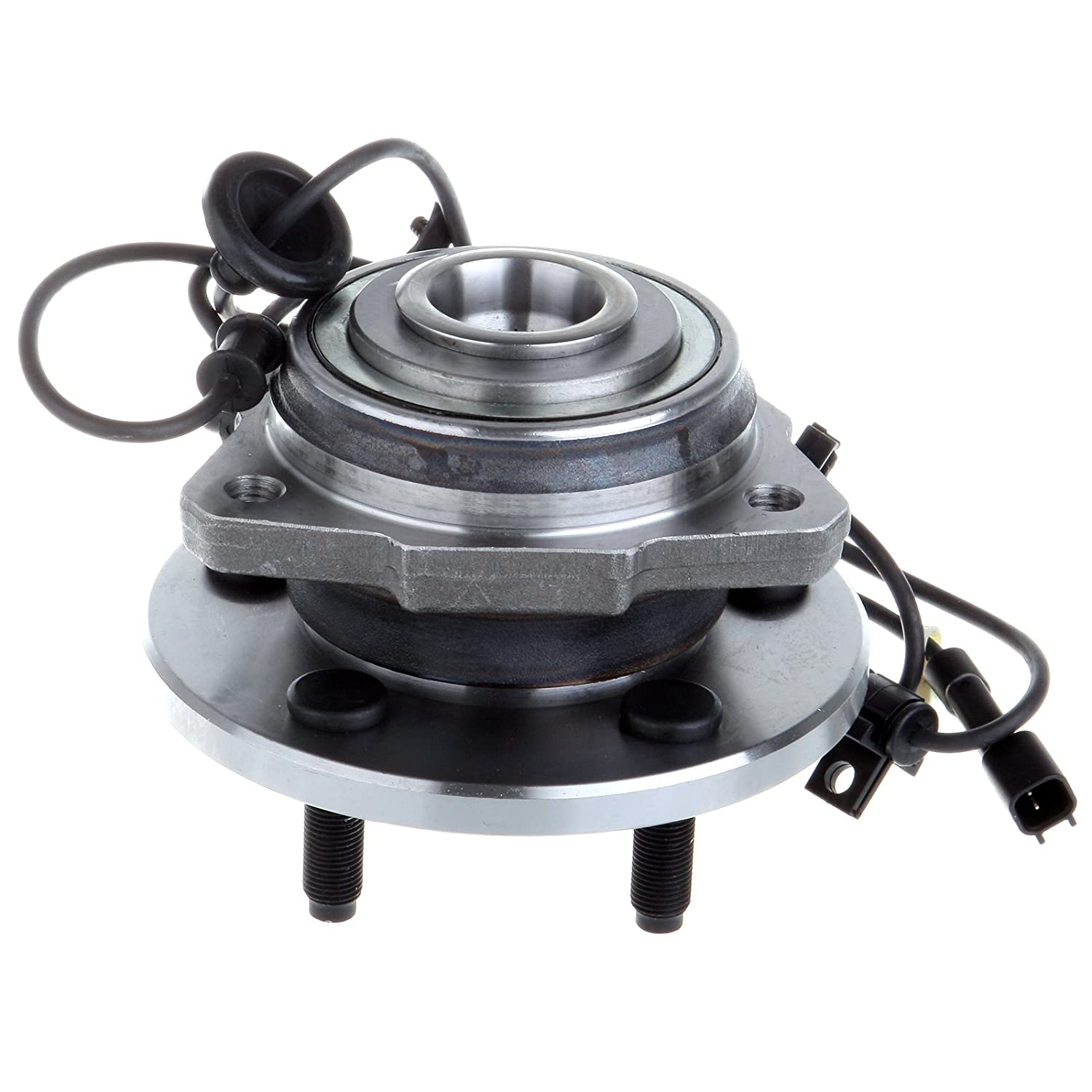 SCITOO Compatible with New Front RH//Passenger Side Wheel Hub Bearing Assembly fit 02-07 Jeep Liberty 5 Lug w//ABS