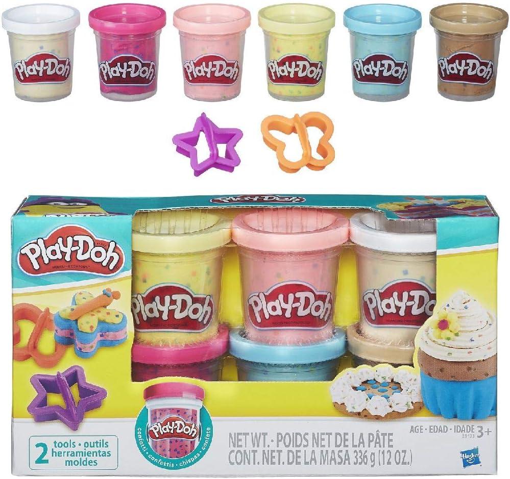 Play Doh - Confetti Compound Collection (Hasbro, B3423EU7): Amazon ...