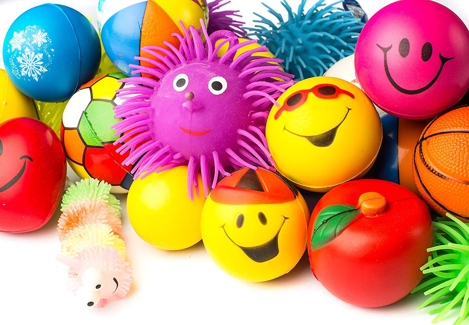 Buy WP Stress Balls Puffer Stress Relief Toys Value Assortment Bulk Stress  Relax Toy Balls, Squeeze Ball Puffer Ball Assortment Most Popular Selection  of Hand Exercise Balls & Therapy Balls Pack of