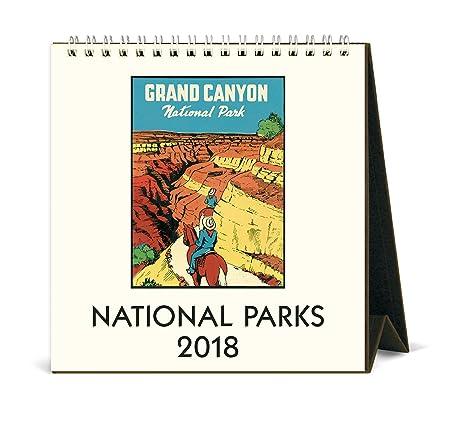 Amazon.com: Cavallini Papers & Co Parques Nacionales 2018 ...
