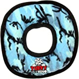 TUFFY Ultimate Ring, Durable Dog Toy (Regular, Camo Blue)