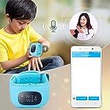 ShopyBucket Bluetooth Q50 Children Anti Lost GPS Tracker, SOS Calling, Camera Smart Watch for Smartphones (Blue)