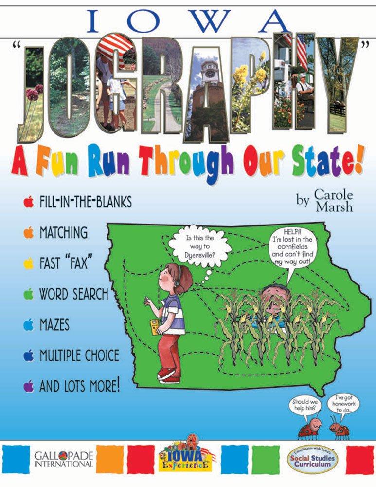 "Iowa ""Jography"": A Fun Run Through Our State! (Iowa Experience) pdf"