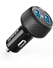 Anker 24W Car Charger 2-Port 4.8A Ultra-Compact PowerDrive 2 Elite with PowerIQ Technology for iPhone XS/Max/XR/X/8/7/6/Plus, iPad Pro/Air/Mini, Galaxy Note/S Series, LG, Nexus, HTC and More