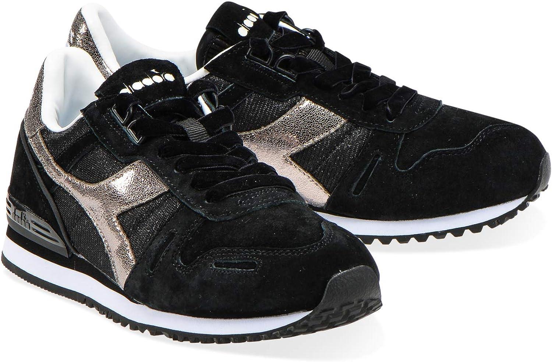 Diadora - Sneakers TITAN WN PREMIUM para mujer 80013 Negro
