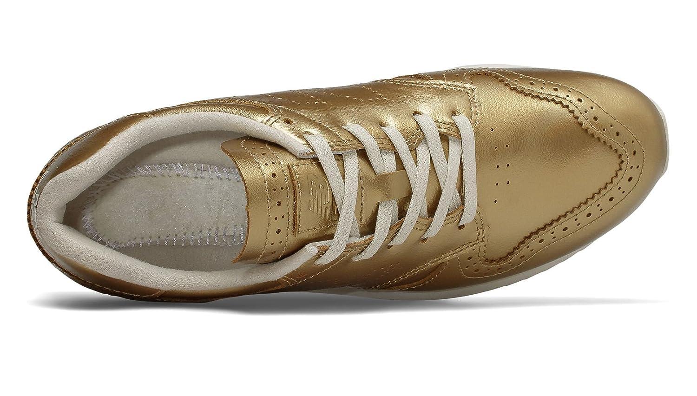 New Balance Women's 520v1 US|Metallic Sneaker B079M6MWMF 8.5 B(M) US|Metallic 520v1 Gold/Moonbeam 58366e