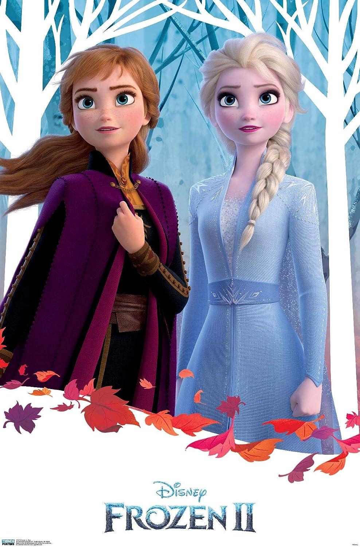 Trends International Disney Frozen 2 - Duo Wall Poster, 22.375