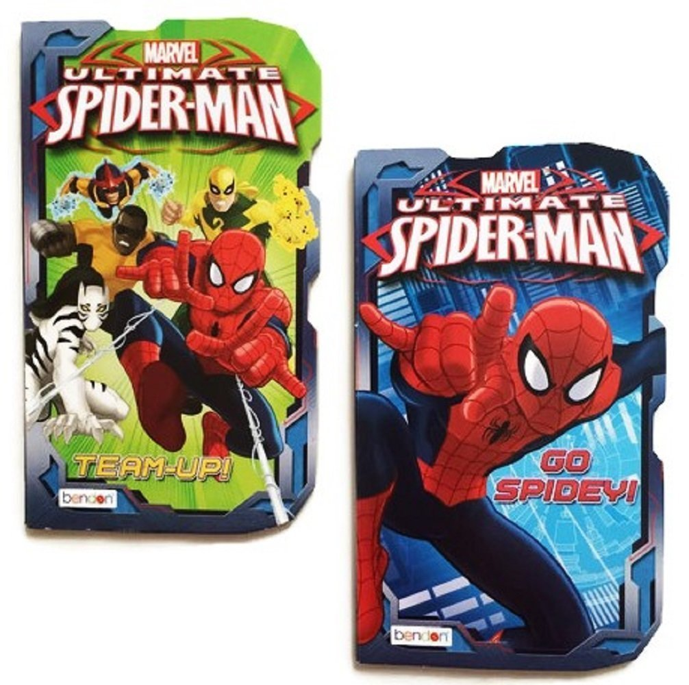 garantizado Marvel Ultimate Spider-Man Board Books, 2-book Set Team-Up    and Go Spidey , by Marvel  mejor opcion