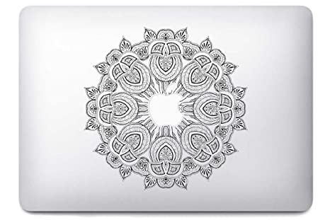 Mandala por i-sticker: Stickers Pegatina Macbook pro Air decoración ordenador portátil Mac Apple