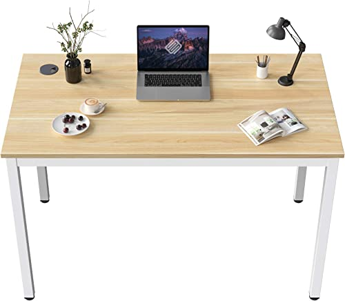 EUREKA ERGONOMIC Small White Desk 31.5-Inch Writing Computer Desk Home Office Sturdy Table - the best home office desk for the money